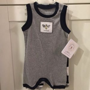 Burts Bees Baby Set 2 Rompers Jumpers